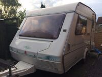 ABI Marauder 2 berth Caravan, light weight, Well looked after, full awning and extras
