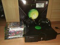 Original Xbox plus 10 games