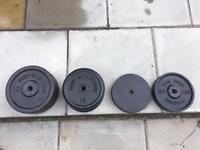 102 KG metal weight plates
