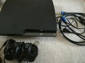 PS3 Slim 120GB CONSOLE . Version 4.66 ( reader do not work)