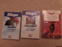 FOR SALE - BILINGUAL NOVELS - ENGLISH FRENCH - £1
