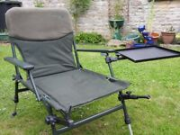 Theseus Carp Fishing Chair Station