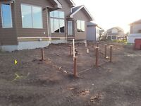 SCREW-PILES,EXCAVATING, DEMOS AND MORE SLAVE LAKE AND AREA