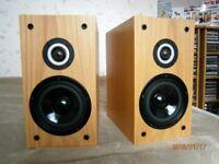 EB Acoustics EB1 Speakers Oak Boxed