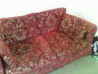 Large 2 seater sofa very luxurios cost over 2k when new excellentt condition
