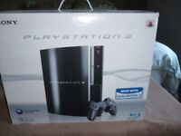 Sony PlayStation 3. 80GB with 21 Games