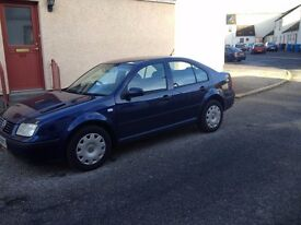VW BORA 1.9TDI (04) VERY LOW MILEAGE