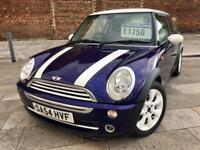 2004 MINI COOPER / LEATHER / ALLOYS / ELECTRIC WINDOWS / CD / JULY MOT .