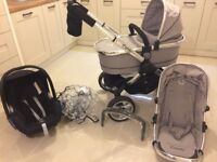 iCandy Peach 2 pram with accessories