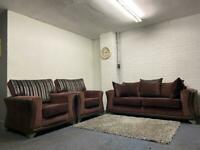 Dfs fabric sofas 3/1/1 sofas delivery 🚚 suite couch furniture