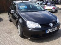 VW Golf 2009, very low mileage 39K, Full service history, HPI Clear