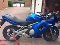 2007 Kawasaki ER6F 650 ABS Model with Alarm in Excellent Condition