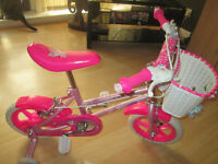 GIRLS SPARKLE AND GLITZ BIKE