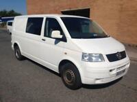 2005 05reg Volkswagen Transporter 2.5 Tdi T5 Good Runner White