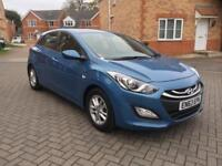 2014 HYUNDAI I30 ACTIVE 1.4 PETROL 12 MONTH MOT FULL SERVICE HISTORY MILEAGE 28K HPI CLEAR CROUIS