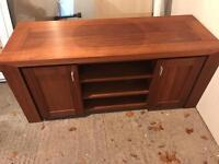 Pure oak TV cabinet for sale