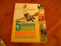 READERS DIGEST 5 MINUTE HEALTH BOOSTERS