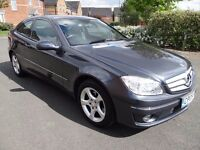 2009 Mercedes-Benz Clc Class 1.8 CLC180 Kompressor SE 2dr LOW MILES ONLY 40K FROM NEW