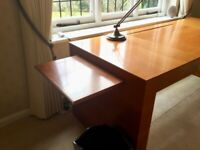 Beautiful modern walnut desk