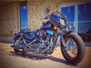 2014 Harley-Davidson XL1200X Forty-Eight LOTS OF MODS, 1 LOCAL O