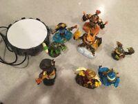 Skylanders and portal