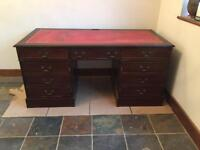 Antique style reproduction desk