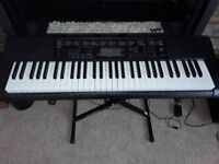 Casio LK-160 Key Lighting Keyboard, Stand & Stool - Excellent Condition (all boxed)
