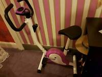 Exercise training bike