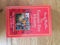 4 Enid Blyton books: The Famous Five Mystery Collection + 3 other paperbacks, good condition