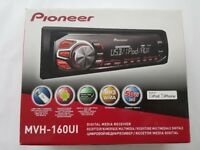 NEW Pioneer MVH-190ui car stereo with RDS tuner, USB and Aux-in FOR iPod iPhone & SMARTPHONE