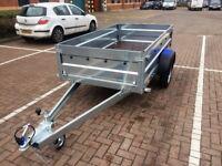 Brand new Faro Tractus 2,63cm car box trailer 750kg
