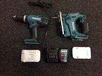 Makita lithium ion set