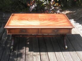 Coffee Table with 2 drawers by Charles Barr