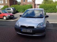 V REG 5dr TOYOTA YARIS 1.0L GS 12 MONTHS MOT FSH EXCELLENT CONDITION AND RUNNER £550..ONO