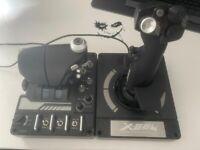 Logitech G X56 H.O.T.A.S Throttle and Joystick