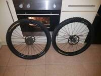 """26"""" mavric wheels and upside down forks"""