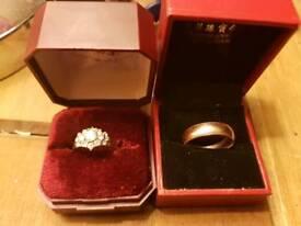 Gold w.a.n.t.e.d Sovereign's chains bracelets