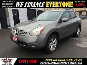 2009 Nissan Rogue SL AWD 1 OWNER 2.5L HEATED SEATS
