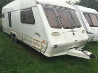 2000 fleetwood caravan 4 berth twin axel good condition for age