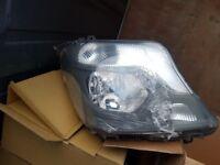 Mercedes sprinter headlamp
