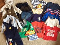 Huge bundle of baby boys clothes (6-9 and some 9-12 months)