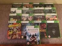 Xbox 360 S console, 250GB, 2 controllers plus games