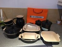 Le Creuset Kitchen Set for sale - 13 pieces - over £300 worth