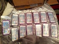 Job lot of phone cases