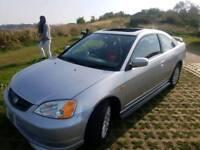 Honda civic coupe auto