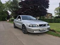 1998 Volvo C70 T5 GT 2.3HPT Manual 290BHP beast. 12 Months MOT. Sports Cat.