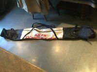 FULL SIZE BAG FOR SKIS. Two zip opening, carry handals. Fully working.