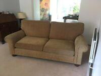 Sofas 3 seater 2 seater and Footstool £150