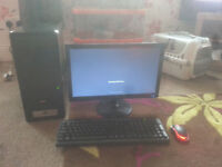 for sale full computer set up ie dual core /500gb had drive / 2 gb ram etc £35