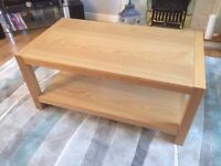John Lewis pinewood coffee table